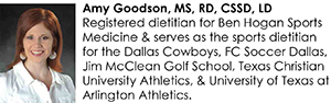Amy Goodson, MS, RD, CSSD, LD